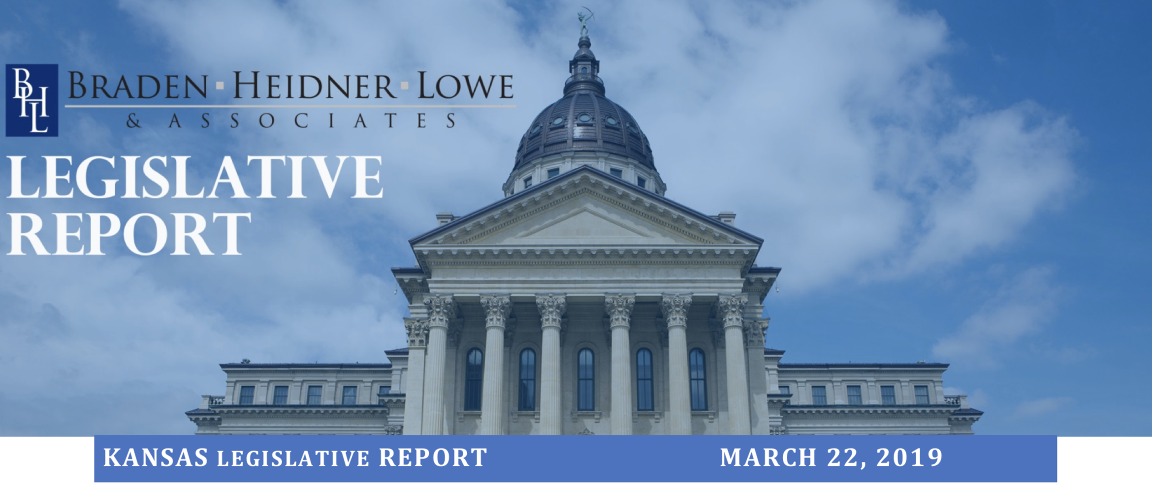 Thumbnail Image For KS Legislative Report March 22, 2019 - Click Here To See